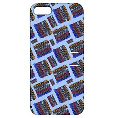 Abstract Pattern Seamless Artwork Apple iPhone 5 Hardshell Case with Stand