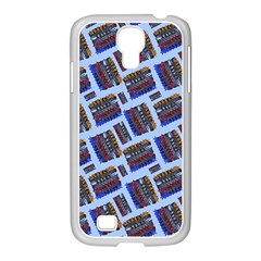 Abstract Pattern Seamless Artwork Samsung Galaxy S4 I9500/ I9505 Case (white)