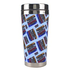 Abstract Pattern Seamless Artwork Stainless Steel Travel Tumblers