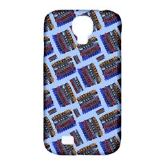 Abstract Pattern Seamless Artwork Samsung Galaxy S4 Classic Hardshell Case (pc+silicone)