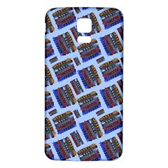 Abstract Pattern Seamless Artwork Samsung Galaxy S5 Back Case (white)