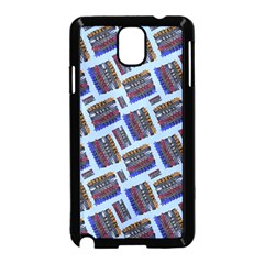 Abstract Pattern Seamless Artwork Samsung Galaxy Note 3 Neo Hardshell Case (black)