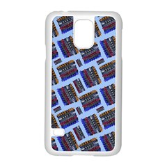 Abstract Pattern Seamless Artwork Samsung Galaxy S5 Case (white)
