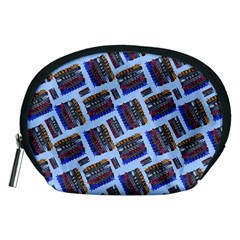 Abstract Pattern Seamless Artwork Accessory Pouches (medium)