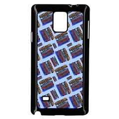 Abstract Pattern Seamless Artwork Samsung Galaxy Note 4 Case (black)