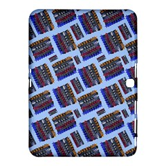 Abstract Pattern Seamless Artwork Samsung Galaxy Tab 4 (10.1 ) Hardshell Case