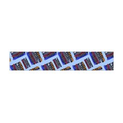 Abstract Pattern Seamless Artwork Flano Scarf (Mini)