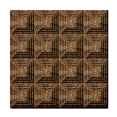 Collage Stone Wall Texture Tile Coasters
