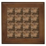 Collage Stone Wall Texture Framed Tiles Front