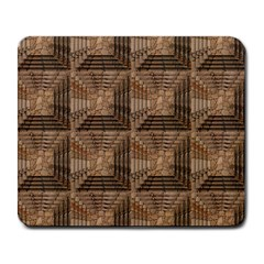 Collage Stone Wall Texture Large Mousepads