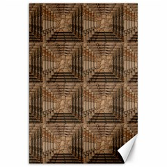 Collage Stone Wall Texture Canvas 20  x 30