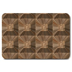 Collage Stone Wall Texture Large Doormat