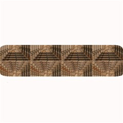 Collage Stone Wall Texture Large Bar Mats