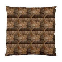 Collage Stone Wall Texture Standard Cushion Case (One Side)