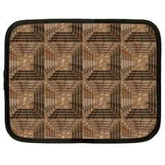 Collage Stone Wall Texture Netbook Case (XXL)
