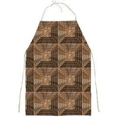 Collage Stone Wall Texture Full Print Aprons