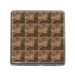 Collage Stone Wall Texture Memory Card Reader (Square)
