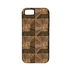 Collage Stone Wall Texture Apple Iphone 5 Classic Hardshell Case (pc+silicone)