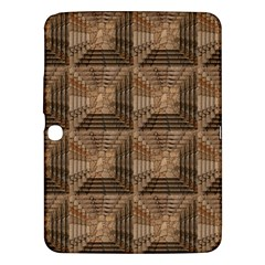 Collage Stone Wall Texture Samsung Galaxy Tab 3 (10 1 ) P5200 Hardshell Case