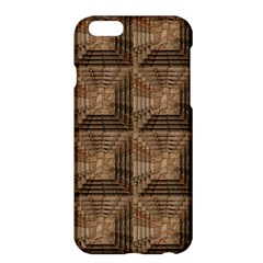 Collage Stone Wall Texture Apple iPhone 6 Plus/6S Plus Hardshell Case