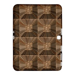 Collage Stone Wall Texture Samsung Galaxy Tab 4 (10.1 ) Hardshell Case