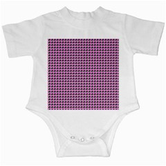Pattern Grid Background Infant Creepers