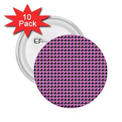 Pattern Grid Background 2.25  Buttons (10 pack)