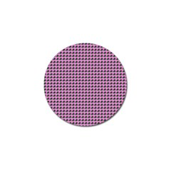 Pattern Grid Background Golf Ball Marker (10 Pack)