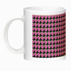 Pattern Grid Background Night Luminous Mugs
