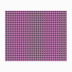 Pattern Grid Background Small Glasses Cloth
