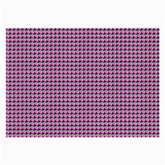 Pattern Grid Background Large Glasses Cloth