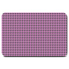 Pattern Grid Background Large Doormat