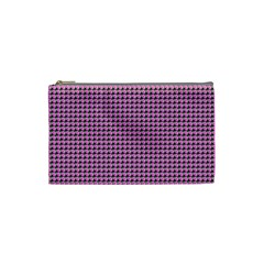 Pattern Grid Background Cosmetic Bag (Small)