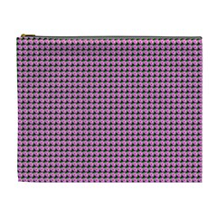 Pattern Grid Background Cosmetic Bag (xl)