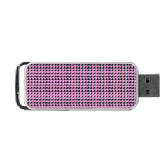 Pattern Grid Background Portable Usb Flash (two Sides)