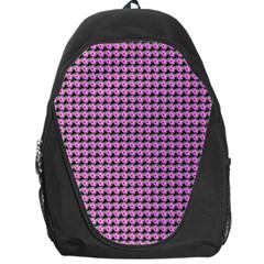 Pattern Grid Background Backpack Bag