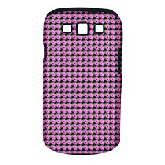 Pattern Grid Background Samsung Galaxy S III Classic Hardshell Case (PC+Silicone)