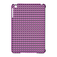 Pattern Grid Background Apple iPad Mini Hardshell Case (Compatible with Smart Cover)