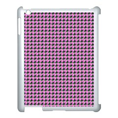 Pattern Grid Background Apple iPad 3/4 Case (White)