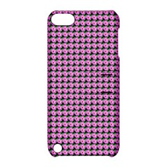Pattern Grid Background Apple Ipod Touch 5 Hardshell Case With Stand