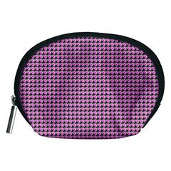 Pattern Grid Background Accessory Pouches (Medium)