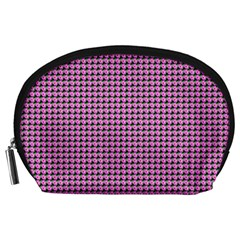 Pattern Grid Background Accessory Pouches (Large)