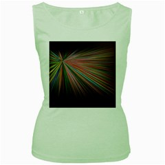 Background Vector Backgrounds Vector Women s Green Tank Top