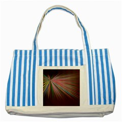 Background Vector Backgrounds Vector Striped Blue Tote Bag
