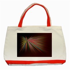 Background Vector Backgrounds Vector Classic Tote Bag (Red)