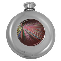 Background Vector Backgrounds Vector Round Hip Flask (5 Oz)