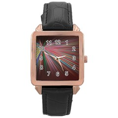 Background Vector Backgrounds Vector Rose Gold Leather Watch