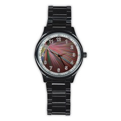 Background Vector Backgrounds Vector Stainless Steel Round Watch