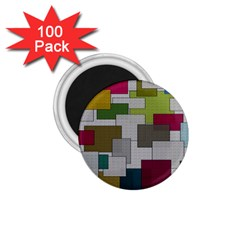 Decor Painting Design Texture 1.75  Magnets (100 pack)