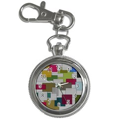Decor Painting Design Texture Key Chain Watches